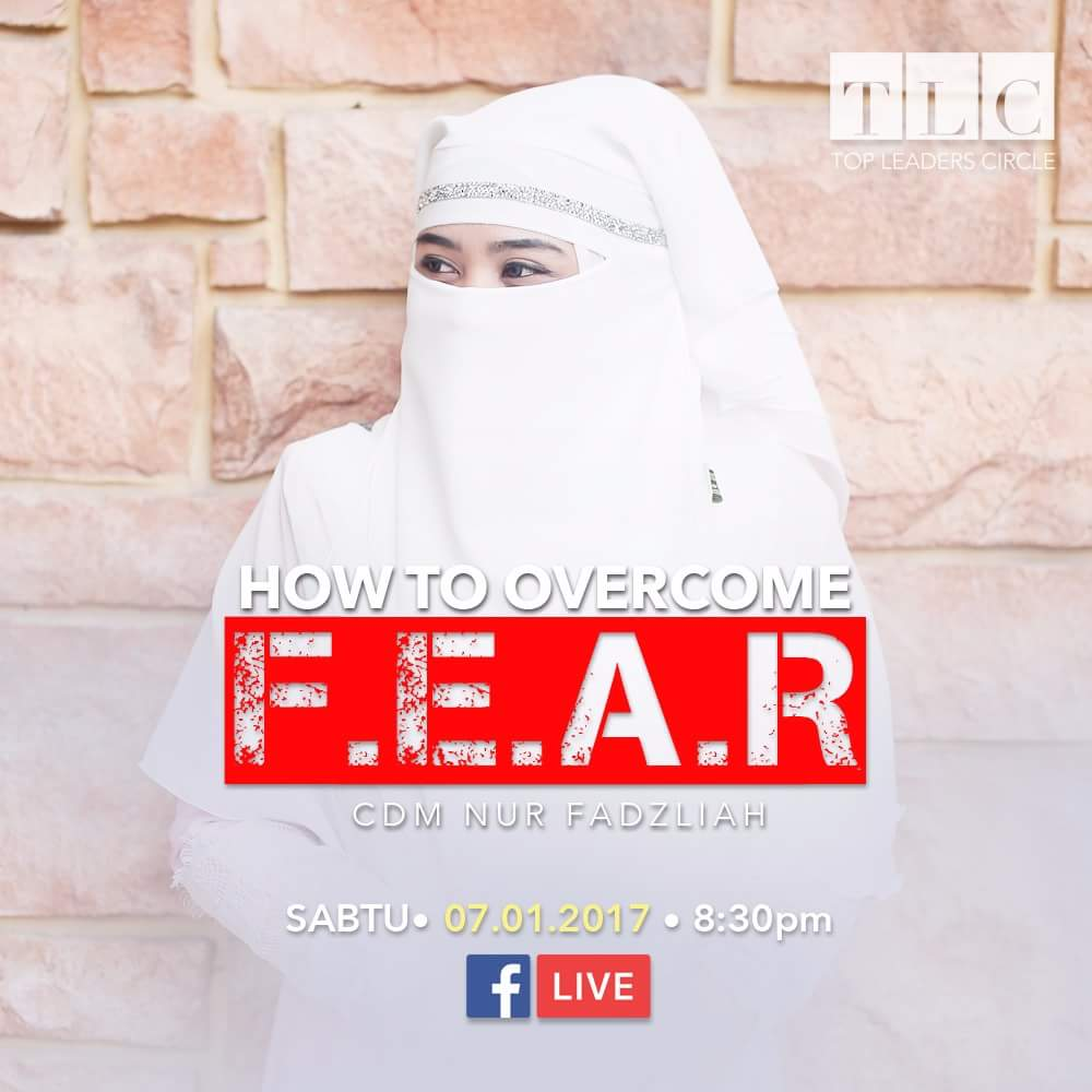Virtual Class TLC : How To Overcome FEAR